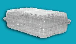 Bandejas descartables con tapa abisagrada  personalizadas Fabrica de envases plasticos